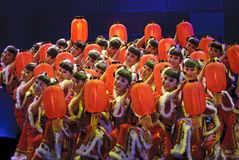 Chinese nationale dansers Stock Foto