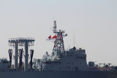 Chinese Navy Goodwill Tour Stock Images