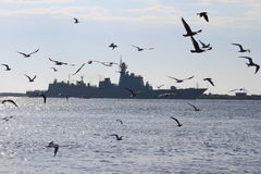 Chinese Navy Goodwill Tour Royalty Free Stock Photos