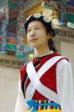 Chinese Naxi woman Royalty Free Stock Image