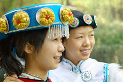 Chinese Naxi women Stock Photography
