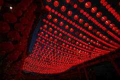 Chinese New Year. Traditional red lanterns for decorations during Chinese New Year stock photography