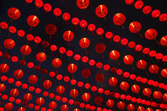 Chinese New Year. Traditional red lanterns for decorations during Chinese New Year royalty free stock photo
