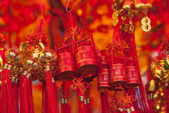 Chinese new year. Decorations of Chinese new year for sale