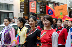 Chinese new year 2014 in Paris Royalty Free Stock Photography