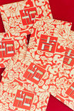 Chinese New Year. When people are ready to give children red envelopes