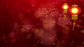 Chinese New Year also known as the Spring Festival digital particles background with Chinese ornament and decorations for seasonal. Chinese New Year also known