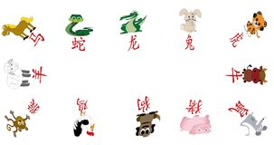 Chinese new year animated border or frame stock video footage