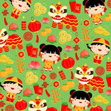 Chinese New Year background. A Chinese New Year background Stock Images