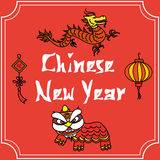 Chinese new year Royalty Free Stock Images