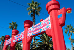Chinese New Year in Barcelona Stock Photography