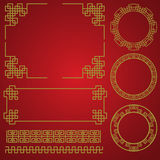 Chinese new year border, vector elements Stock Photography