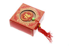 Chinese New Year Cake and Trinket Royalty Free Stock Photography