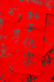 Chinese new year calligraphy, phrase meaning is blessing for goo Royalty Free Stock Photos