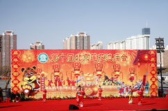 Chinese new year celebration 2010 Royalty Free Stock Images