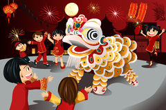 Chinese New Year celebration Royalty Free Stock Images