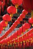 Chinese New Year Celebration. Lucky lanterns shine in a Chinese New Year Celebration Stock Images