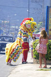 Chinese New Year Celebration  on Koh Samui Royalty Free Stock Images