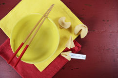Chinese New Year celebration party table Royalty Free Stock Photography