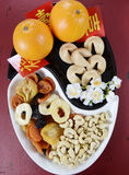 Chinese New Year celebration party tray of togetherness Stock Photography