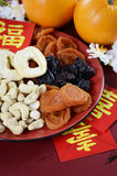 Chinese New Year celebration party tray of togetherness Royalty Free Stock Image