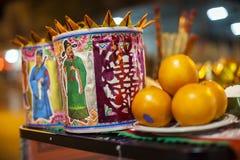 Chinese New Year celebration,prayer Royalty Free Stock Photos