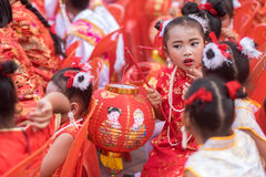 Chinese New Year celebration in Thailand Stock Images