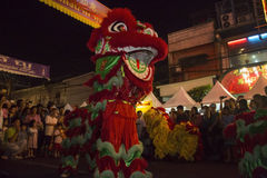 Chinese New Year Celebrations - Bangkok - Thailand Royalty Free Stock Photography