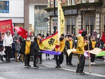 Chinese New Year celebrations, 26th January 2020, Newcastle upon Tyne, UK