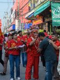 Chinese New Year Celebrations in Thailand Stock Photography