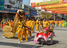 Chinese New Year Celebrations in Thailand Stock Images