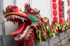 Chinese New Year in China town in Milan