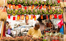 Chinese new year in Chinatown, Manila, Philippines Royalty Free Stock Photo