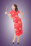 Chinese new year with chopsticks Royalty Free Stock Images
