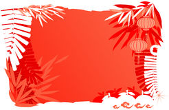 Chinese New Year Day - Abstract background royalty free illustration