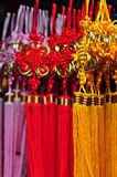 Chinese New Year decor. Colorful and vibrant Chinese New Year decor Stock Photo