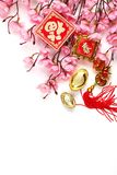 Chinese New Year Decoration. Chinese New Year Ornament,Lucky Knot and Plum Blossom