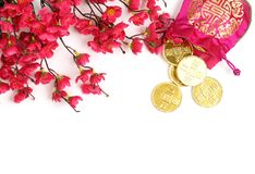 Chinese New Year Decoration Royalty Free Stock Photography