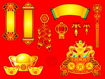 Chinese New Year decoration stock illustration