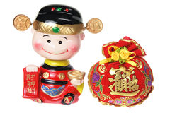 Chinese New Year Decoration. On white Background