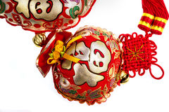 Chinese new year decoration background Royalty Free Stock Image