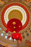 Chinese New Year Decoration. For the Ceiling of a Shopping Mall in Southeast Asia Royalty Free Stock Photo