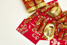 Chinese New Year. Decoration, firecackers royalty free stock image