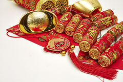 Chinese New Year. Decoration, gold royalty free stock images