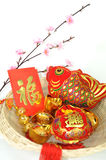 Chinese new year decoration items Stock Photography
