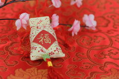 Chinese new year decoration items Stock Photos