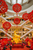 Chinese New Year decoration in KL Pavilion Stock Photos