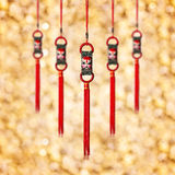 Chinese New Year Decoration. Postcard Royalty Free Stock Photo