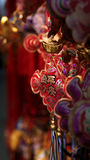 Chinese New Year decoration. A Chinese New Year decoration on sale in a store Stock Image