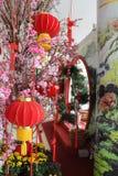Chinese New Year decoration. At shopping mall kuala lumpur malaysia Royalty Free Stock Images